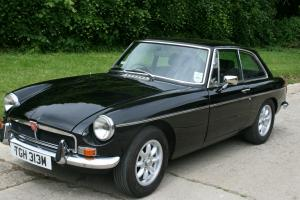 MGB GT chrome bumper (1973)