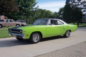 1970 Plymouth Hemi 4 spd Roadrunner 37K Survivor 2 door HT R Code