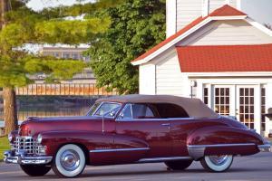 1947 Cadillac Series 62 Coupe Convertible: Rare Restored Treasure