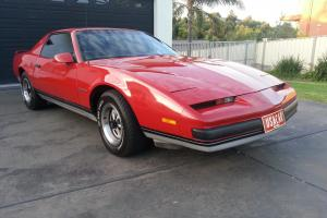1986 Pontiac Firebird V8 305 NOT Chevrolet Motor USA CAR Plates