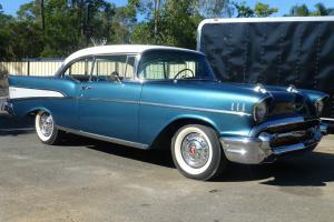 1957 2 Door Hard TOP Chevrolet HOT