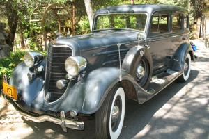 1934 Dodge DR Series Sedan Dual Side Mounts Very Original 66K Original Miles