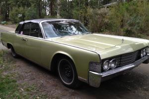 Lincoln Continental Convertible Melbourne Part Trade