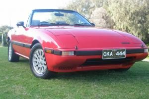 Mazda RX7 Series 3 1985 Convertible Very Rare Immaculate Only 159500KMS