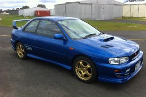 1999 Subaru WRX STI Coupe Stock Original Reserve IS OFF