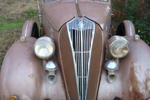 Hudson 1936 6 Wheel Equipment Original Make Great RAT ROD  Photo