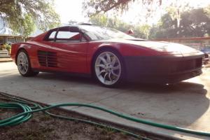 Ferrari Testarossa Project. COMPLETE including clean/clear Florida Title