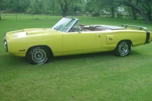 1970 Coronet R/T (clone)  convertible