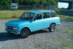 1966 DATSUN 411 WAGON RARE FIND IN THIS CONDITION WITH A J15