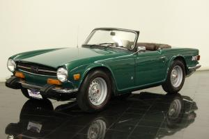 1974 Triumph TR6 Roadster 2498cc 6 Cyl 4 Speed 57K Miles Cosmetically Restored
