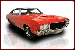 70 Buick GS Stage 1  GS 455 V8 Engine Automatic Red w/Vinyl Top Black Interior