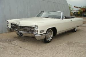 1966 CADILLAC ELDORADO CONVERTIBLE- FACTORY BUCKET SEATS.  TEXAS