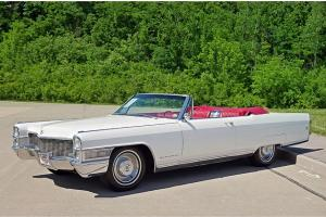 1965 Eldorado Convertible, A/C, Bucket Seats, Loaded With All The Options