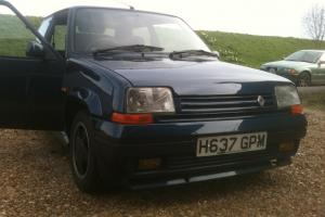 1990 RENAULT 5 GT TURBO RAIDER BLUE  Photo