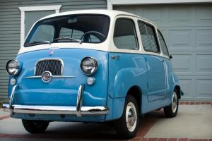 1958 FIAT 600 MULTIPLA 4 DOOR STATION WAGON, ABARTH, 600, BEAUTIFUL.