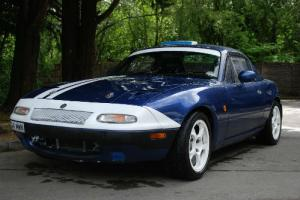 MAZDA MX-5 MK 1 TURBO / ROAD LEGAL TRACKDAY / MX5 Mk1 TURBO / 1990 / BLUE