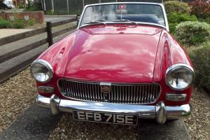 1967 MG MIDGET MkIII Extensive restoration in 1996 Photo file to show