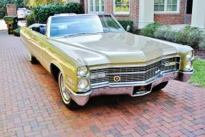 Absolutly pristine condition 1966 Cadillac Deville Converetible folks shes mint