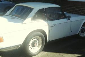 1971 TRIUMPH TR6 WHITE