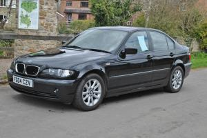 2004 BMW 318I ES BLACK 2.0,1995cc Saloon. 35,000 MILES ONLY BMW 3 SERIES