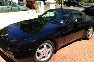 1991 PORSCHE 944 S2 Cabriolet Schwarz Black