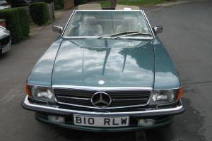 1986 MERCEDES 420 SL AUTO BLUE