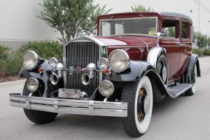 1931 Pierce Arrow Eight Cylinder Sedan
