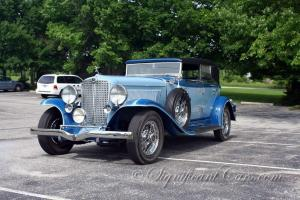 1933 Auburn 12-161A Custom Phaeton - Perfectly Restored!