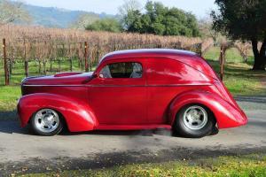 Custom 1941 Willys Wagon ALL STEEL 6.1L TPI Hemi 6SP AC PS 4WPDB PW Ford Posi