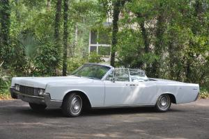 Beautiful Lincoln Continental convertible