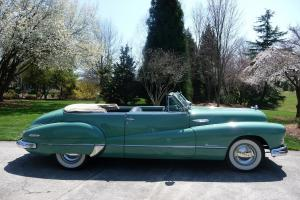 1948 Buick Roadmaster Convertible Series 70 Excellent Condition