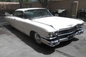 1959 Cadillac 2 Door Coupe Beautiful Original 2nd Owner