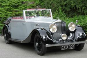 1936 Bentley 4 1/4 Park Ward Drop Head Coupe B19GP