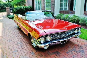 Magnificent fully restored 1961 Cadillac Series 62 Convertible simply beautiful
