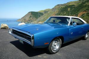 1970 Dodge Charger R/T RT 440 6 Pac Pack Six B5 Blue Auto 70 Muscle Car Mopar