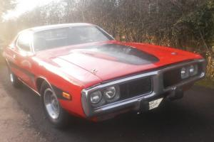 AMERICAN DODGE CHARGER 340 MAGNUM 4 SPEED MANUAL FULL NO,S MATCHING CAR 1973