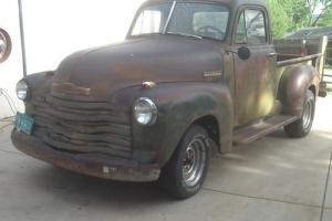 1952 CHEVY TRUCK 3100 1/2 TON SHORT BED