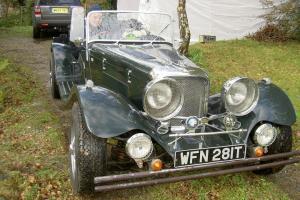 1937 Jaguar SS100 Replica - Carisma Century - Rare Opportunity