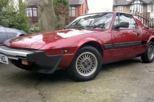 1989 Fiat Bertone X1/9 Gran finale Red
