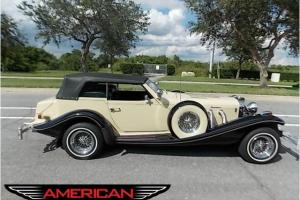 1983 Original Excalibur Phaeton IV- low mileage- excellent condition