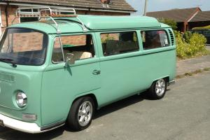 Vw camper T2 1970 subaru 2.0 turbo engine with 5 speed subaru gearbox