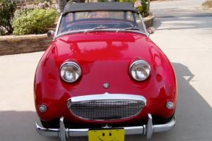 Red,Convertible, Classic,sportscar, exlt cond. British Motors,2 seater, Sprite
