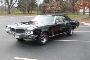 1970 Buick GS 455 Triple Black Convertible Best in Show Winner