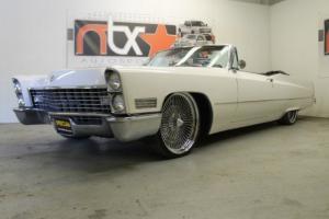 67 Cadillac Coupe Deville Convertible Wire Wheels 429ci