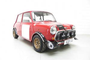An incredible Mk2 Mini Cooper S Rally Works Replica Road Legal, Ready to Enjoy