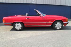 1989 MERCEDES 300 SL ( R107 ) AUTO RED