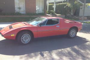 1978 Maserati Merak SS - Rare Beautiful Car