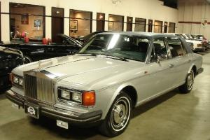 1985 Rolls-Royce Silver Spur LWB Silver with Blue GORGEOUS Rolls !