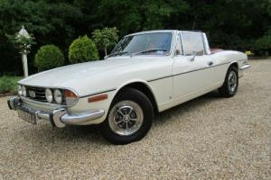 TRIUMPH STAG 1971 MANUAL LAST OWNER 37 YEARS
