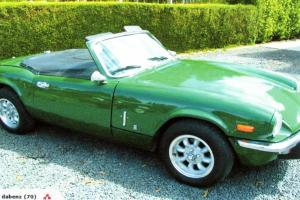 Triumph Spitfire 1973 MK 4 Inmaculate Imported RHD From NEW Zealand
